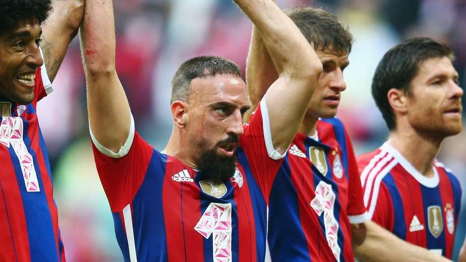 Ribéry - Bayern 2x0 Stuttgart