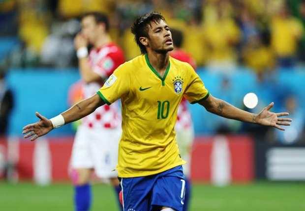 Neymar hizo un Mundial aceptable para Brasil.