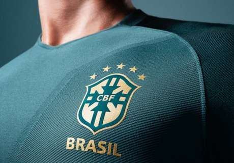 Brasil, nueva camiseta verde oscura