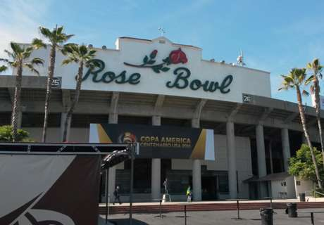 O 'soccer' é raro no Rose Bowl