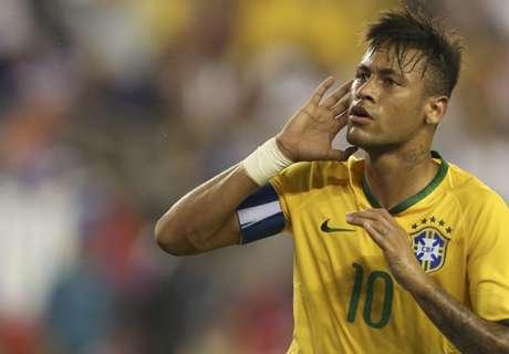 La paridad de Neymar vs. Argentina