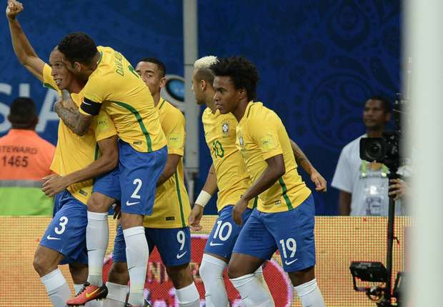 IN STATS: All the numbers from Brazil's win over Colombia