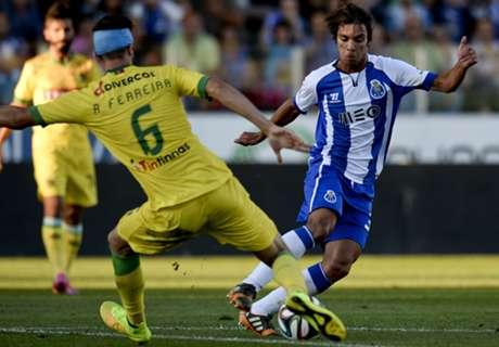Português: Paços de Ferreira 0 x 1 Porto