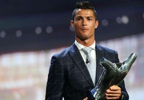Cristiano Ronaldo joueur européen de l'année