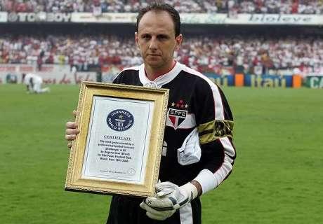 Rogerio Ceni si ritira: leggenda
