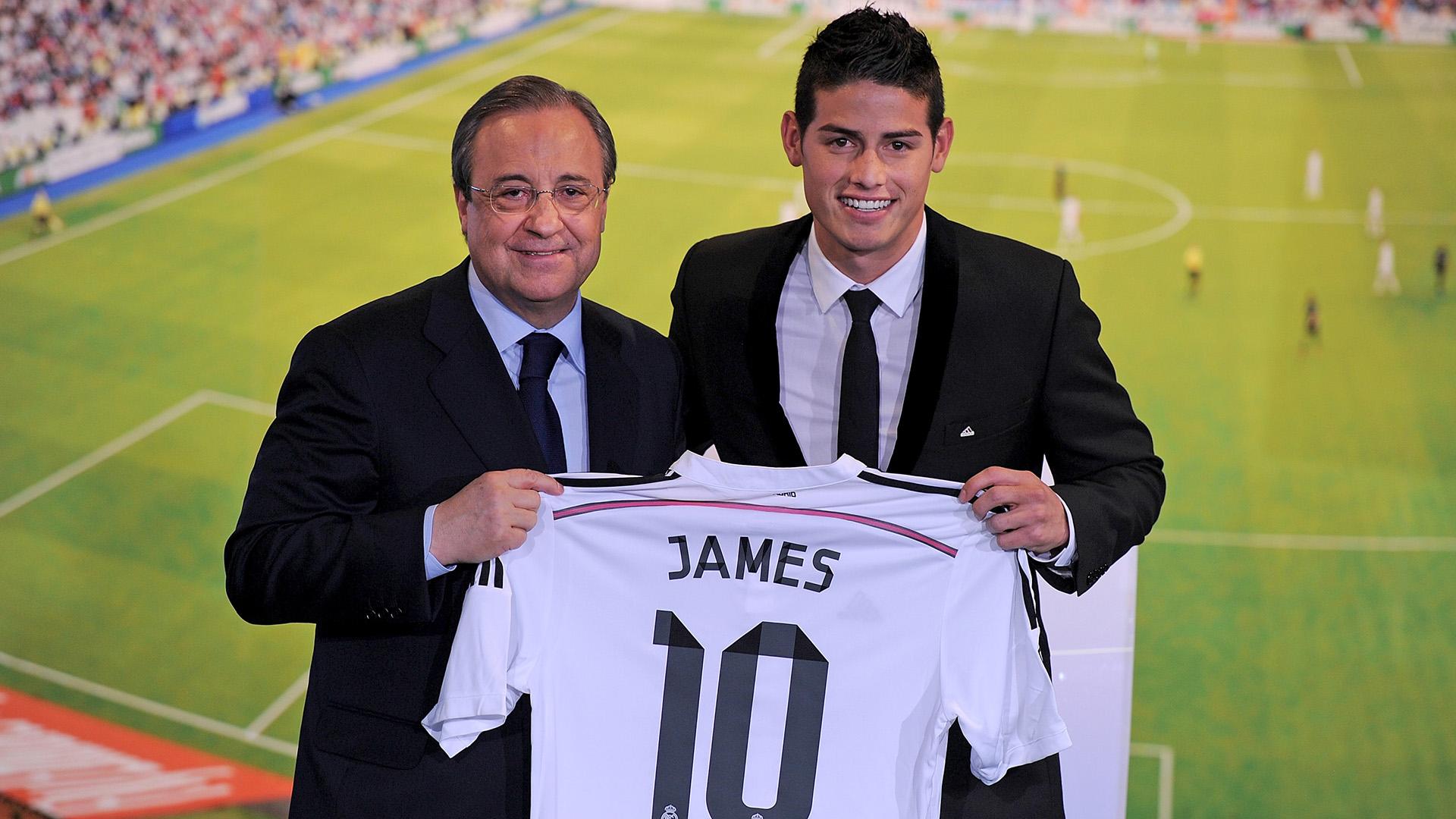 Mercato - Real Madrid : James Rodríguez ne sera pas prêté cet été
