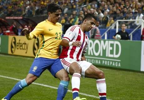 FT: Brasil 3-0 Paraguay