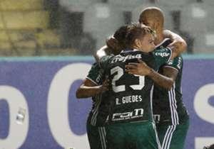 Os 24 gols feitos pelo Palmeiras nesta temporada estão bem divididos. Até aqui, 13 jogadores diferentes já balançaram as redes. Confira a lista completa!