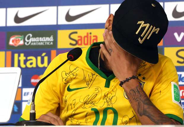Neymar: Two centimetres lower and I could have been wheelchair-bound