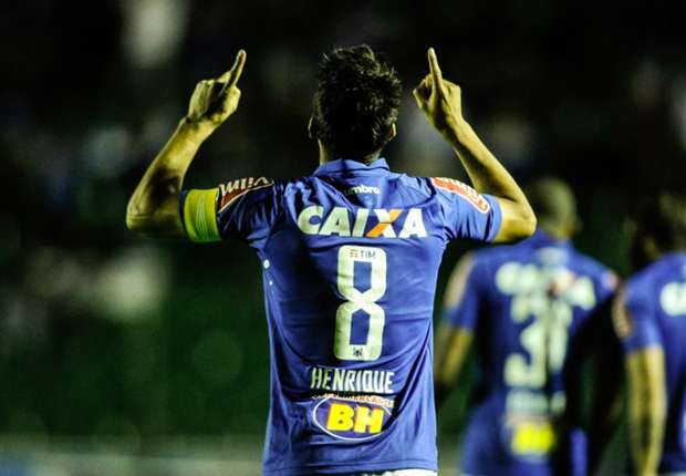 No more tears: Cruzeiro's Henrique back with Brazil after long wait