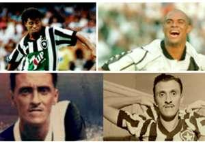 Vários são os jogadores que já defenderam Botafogo e Vasco, mas selecionamos os dez melhores. Confira!