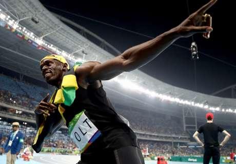 Bolt pode trocar a pista pela bola?