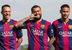 Tirando a primeira das quatro conquistas do Barcelona, sem participação de canarinhos, os craques brasileiros sempre tiveram papel importante. Confira os campeões na UCL pelo clube catalão