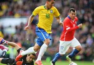 Brasil 1-0 Chile | Amistoso Internacional | Emirates Stadium, Londres | 29/03/2015