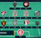 Galeria: a seleção da 17ª rodada do Brasileirão