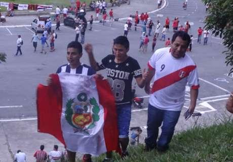 Peruanos confiam em 'milagre'