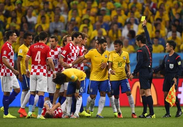 No malice in Modric elbow - Neymar