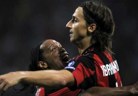 Ronaldinho: Beste Wünsche für Ibra
