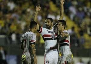 Gilberto foi o principal destaque, enquanto Breno acabou sendo o 'vilão' do empate do São Paulo em 2 a 2 com o Novorizontino