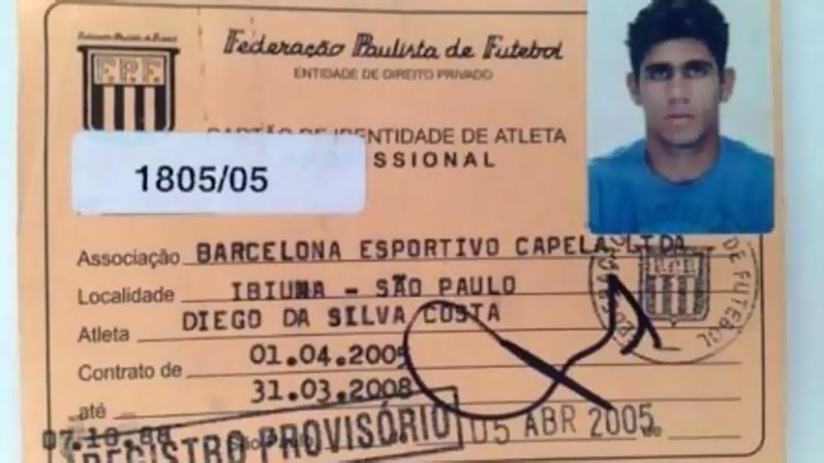 EMBED Archive pic Diego Costa Barcelona Brasil