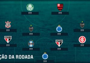 O Palmeiras é o líder do campeonato, com 67 pontos, seis a mais que o Flamengo, segundo colocado. O Rubro-Negro tropeçou no fim de semana. São Paulo Cruzeiro e Atlético-MG tem maioria entre os melhores.