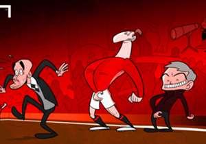 Notre dessinateur s'est amusé de la scène aperçue lors de Manchester City-Manchester United (1-0), où Zlatan Ibrahimovic s'est touché les parties génitales après une altercation avec Willy Caballero.