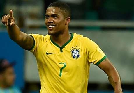 Costa blinkt uit bij Brazilië