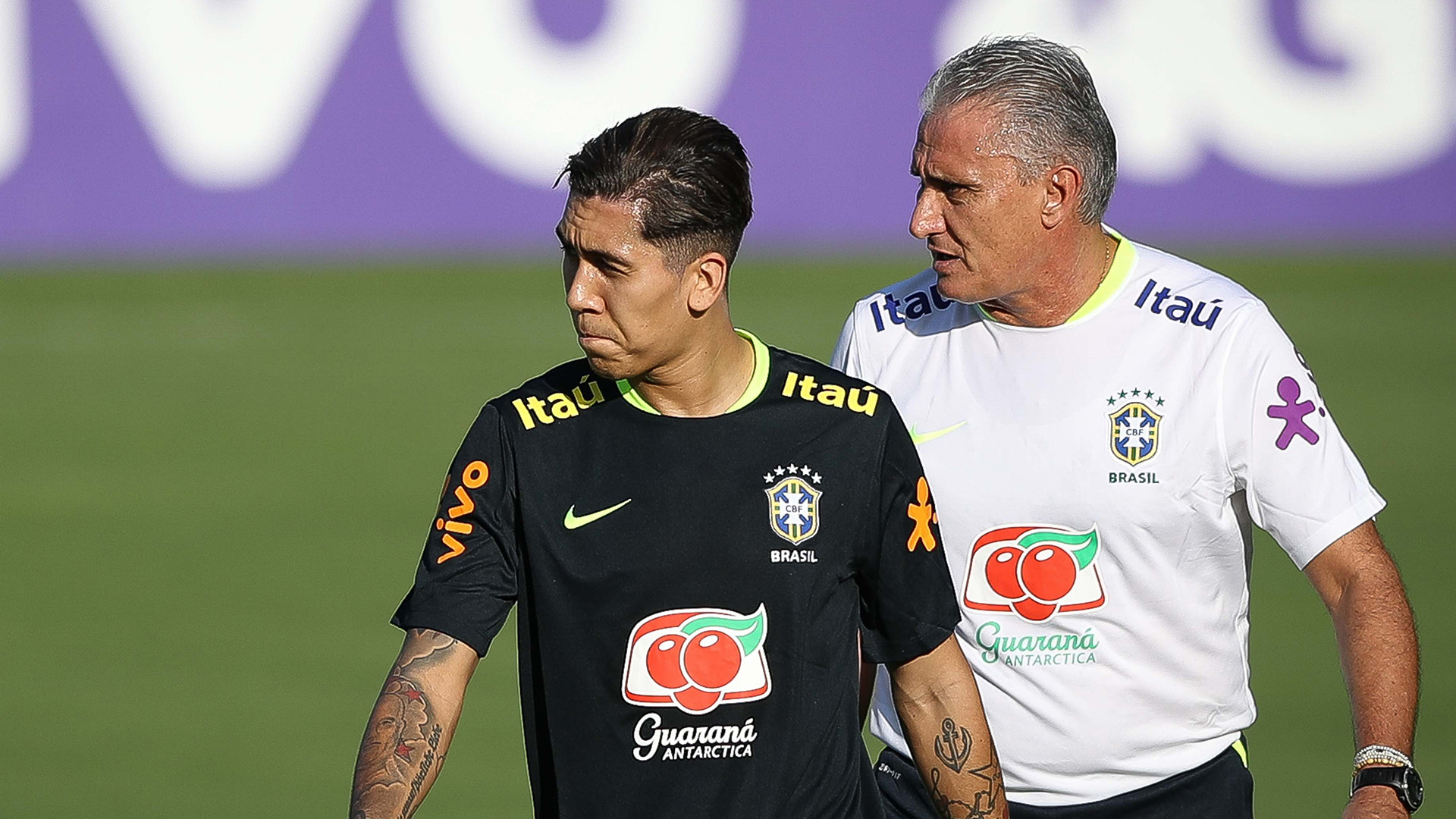 Paulinho hat-trick as Brazil thrash Uruguay