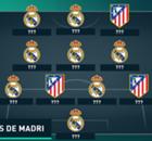 Galeria: O time combinado entre Real e Atlético de Madrid
