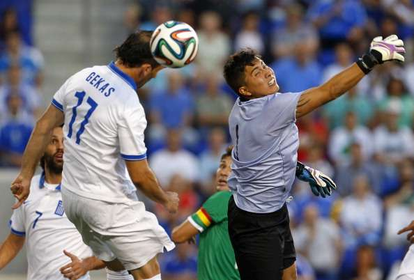 Greece 2-1 Bolivia: Santos' side claim first win in five games
