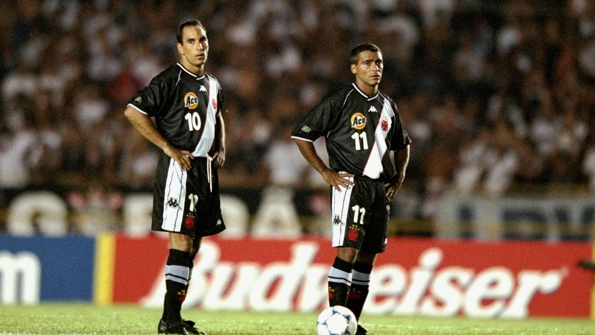 Edmundo e Romário (Vasco) 28042016