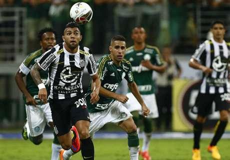 Palmeiras y Vasco pegaron primero