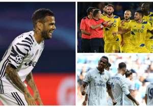 Confira como foi o desempenho dos 18 brasileiros que estiveram em campo nesta terça-feira (27) de Champions League