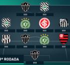 Galeria: A seleção da 29ª rodada do Brasileirão