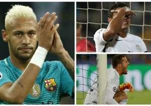 Confira como foi o desempenho dos 19 jogadores brasileiros que estiveram em campo nesta quarta-feira (28) de Champions League!