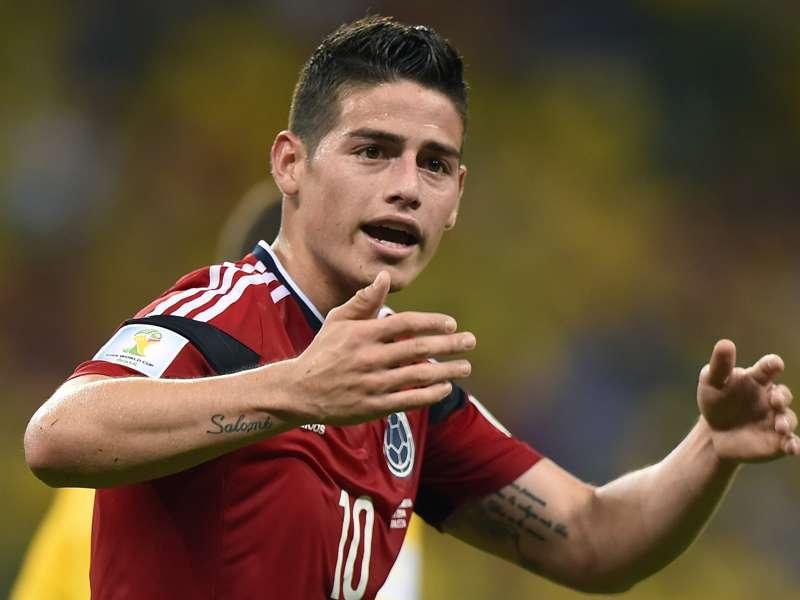Le Real Madrid attend James Rodriguez et veut vendre Isco