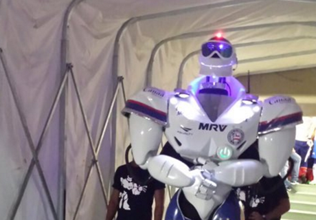 Vídeo: o robô de Bahia x Santos
