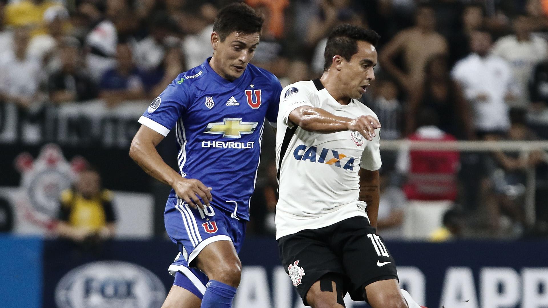 Jadson Matias Rodriguez Corinthians Universidad de Chile Copa Sudamericana 05042017