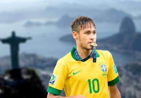 'Golden Trio' set to start for Brazil