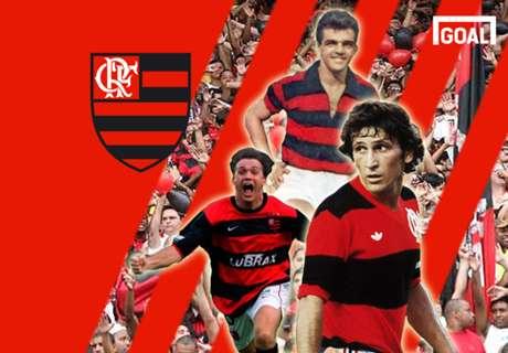 Os 20 grandes ídolos do Flamengo