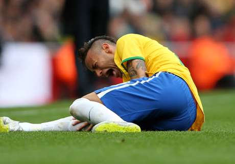 Neymar: Es ist Fußball und kein UFC