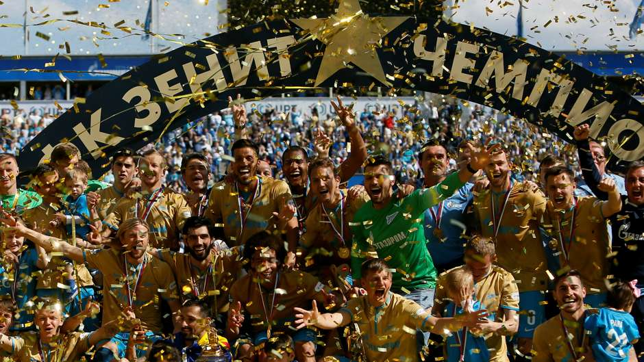 fc zenit st petersburg soccerway
