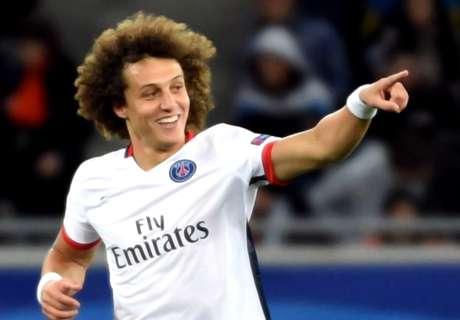 David Luiz podría ser baja ante el Madrid