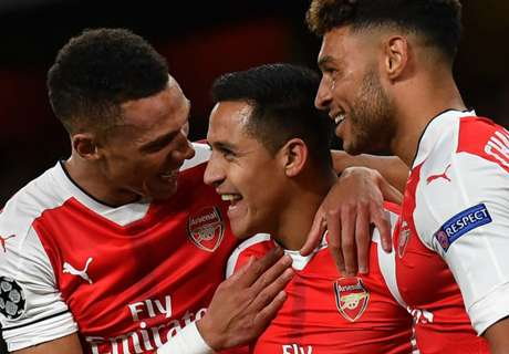 Los goles de Alexis en la 2016/17