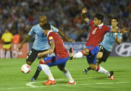 Chile 3 x 1 Uruguai