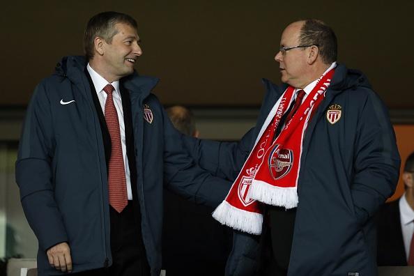 El Príncipe Alberto y el presidente de Mónaco Dmitriy Rybolovlev