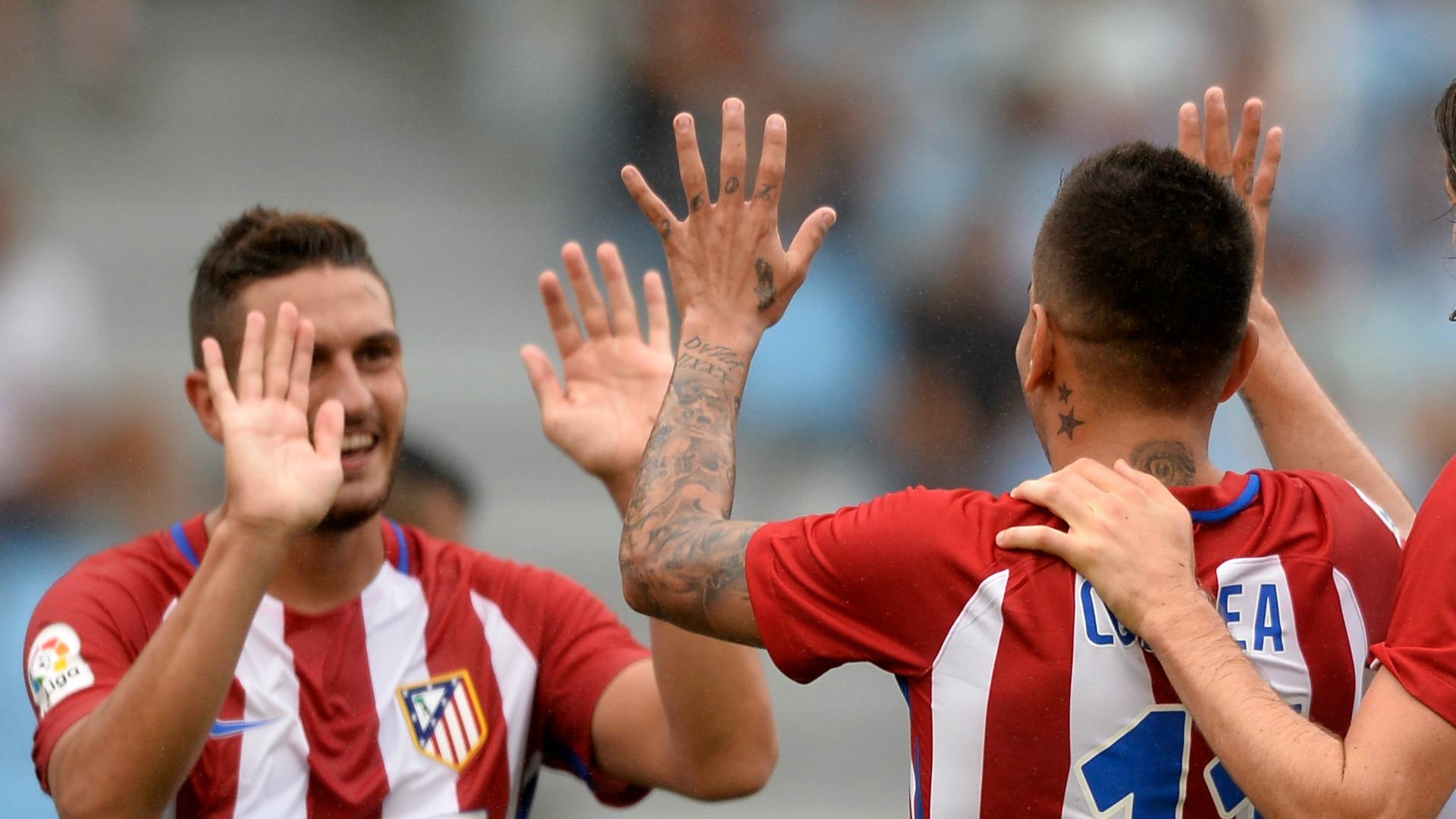 San Luis y Atlético de Marid fusionan escudos