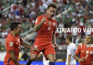 Luego de someterse a un radical cambio de look, en Goal repasamos los cambios que ha experimentado el delantero bicampeón de América con La Roja.