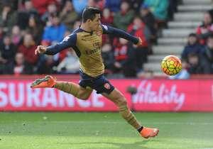 El partido de Alexis ante Bournemouth.