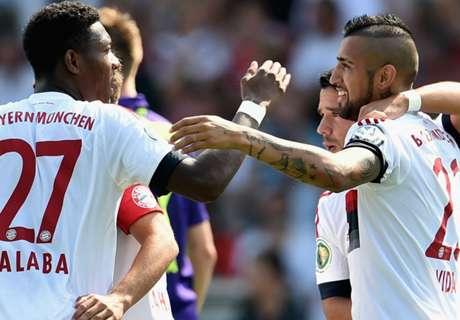 REPORT: Nottingen 1-3 Bayern Munich